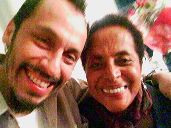 Gustavo con Susana Baca en Zurich
